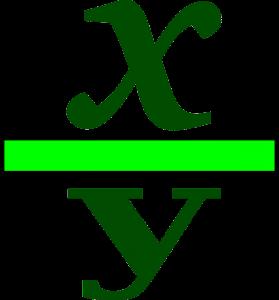 Fracción generatriz de un número decimal