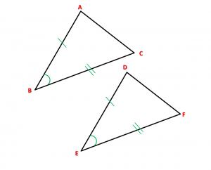 Congruencia de triángulos