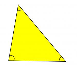 Triángulo Y Tipos De Triangulos Clasificación