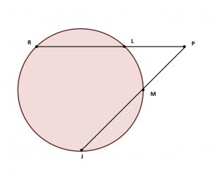Relaciones métricas en la circunferencia