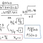 Raíces en polinomios