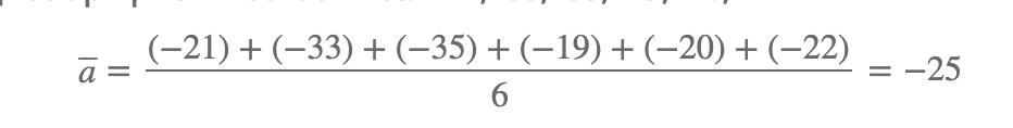 Media aritmética de números
