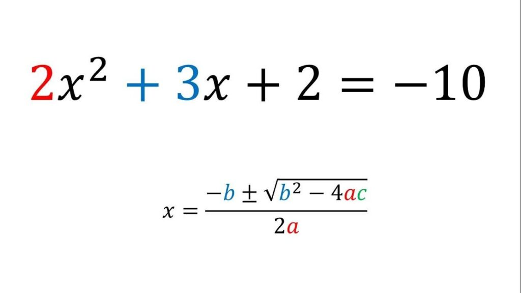 ecuaciones cuadraticas ejemplos